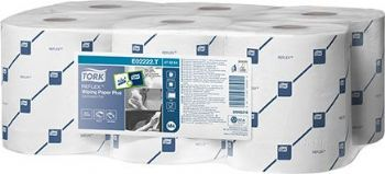 Tork Reflex Wiping Paper Plus 2 Ply White - Code 17659